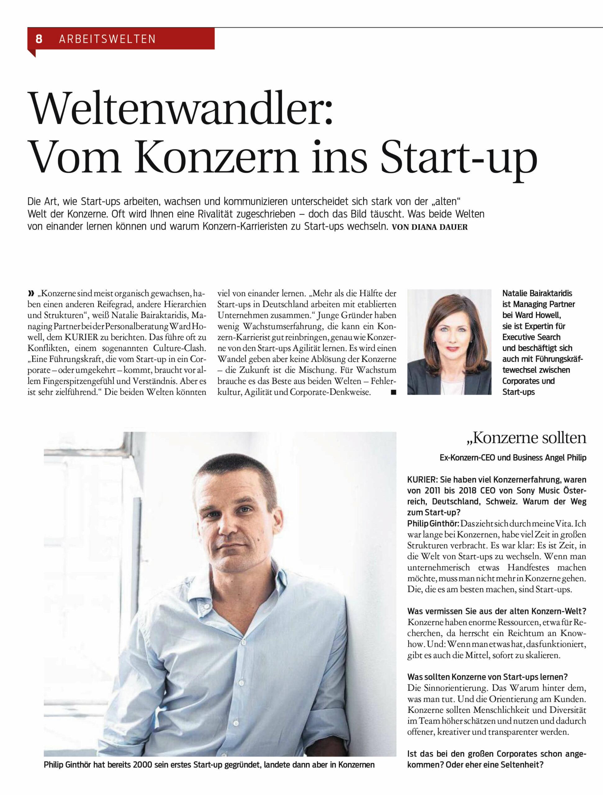 Neue Unternehmenskultur – Vom Konzern ins Start-Up